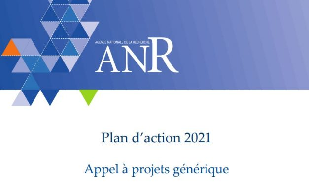 Appel à projets générique ANR – AAPG 2021 – 1/12/2020