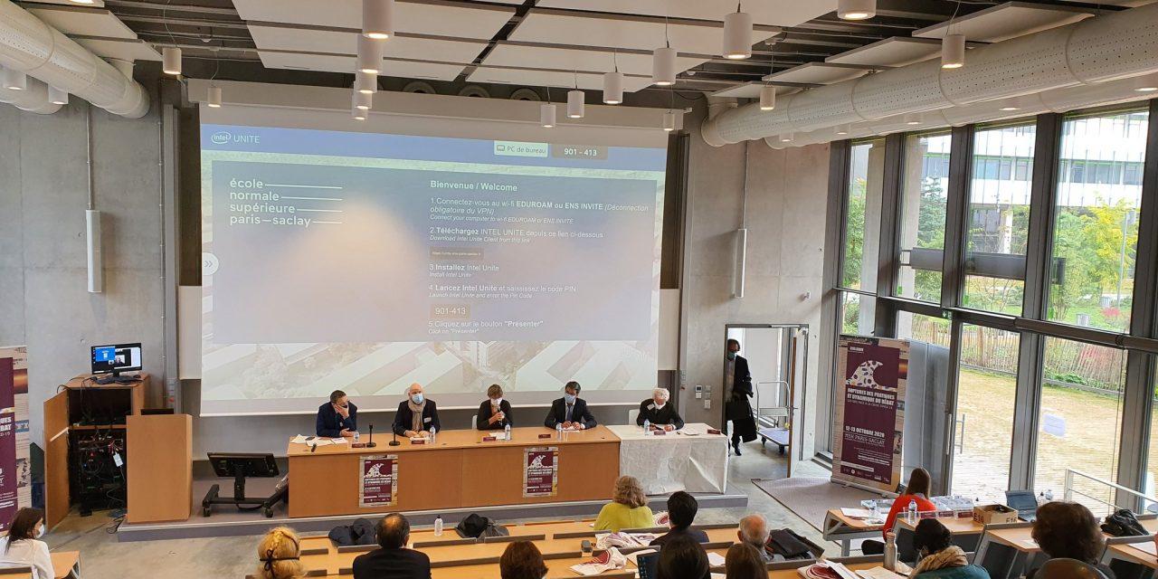 Retour sur le colloque de la MSH Paris-Saclay    « RUPTURES des pratiques et dynamique du débat – Les SHS face à la crise covid-19 »  – 12 et 13/10/2020