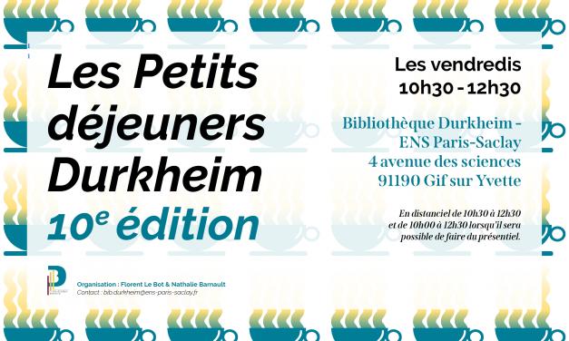 Vidéos – Petits Déjeuners Durkheim 2021