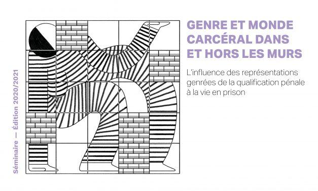 Séminaire Genre et monde carcéral – Séance 3 – 07/04/2021