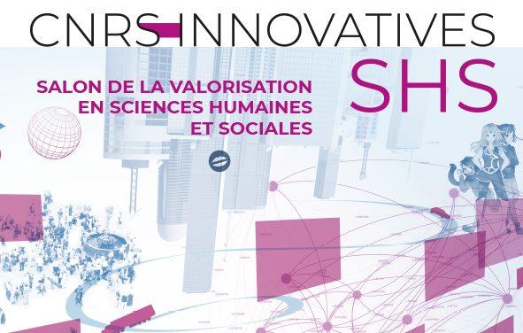 appel à candidatures pour le Salon «Innovatives SHS» organisé en mai 2022